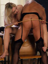 HeadMistress Madonna rules over naughty panty boy - Premium Plus slaves
